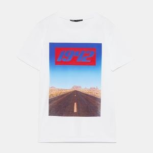 ZARA Cotton t-shirt